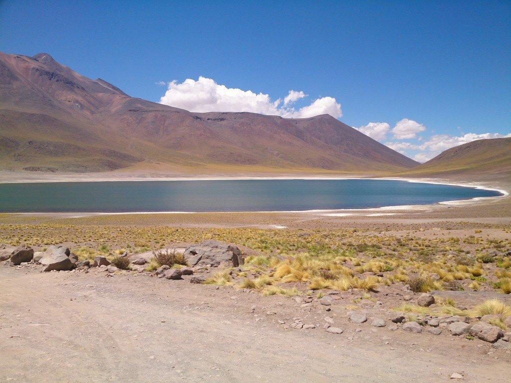 De Atacama woestijn in Chili