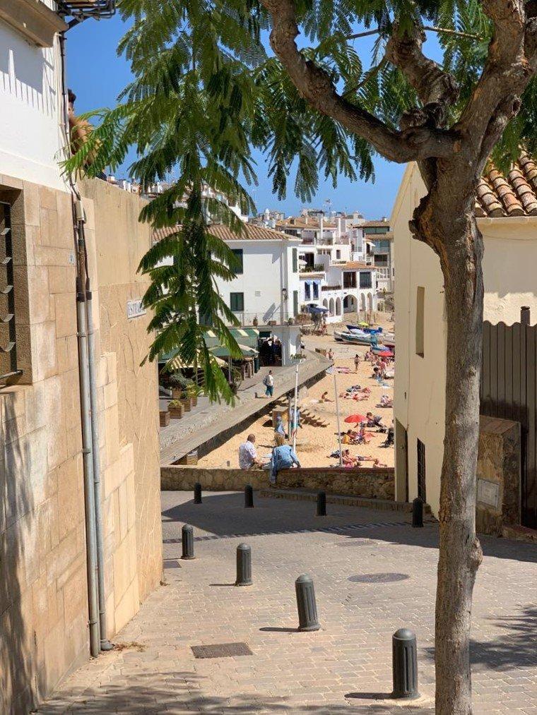 Het dorpje Calella de Palagrugell aan de Costa Brava