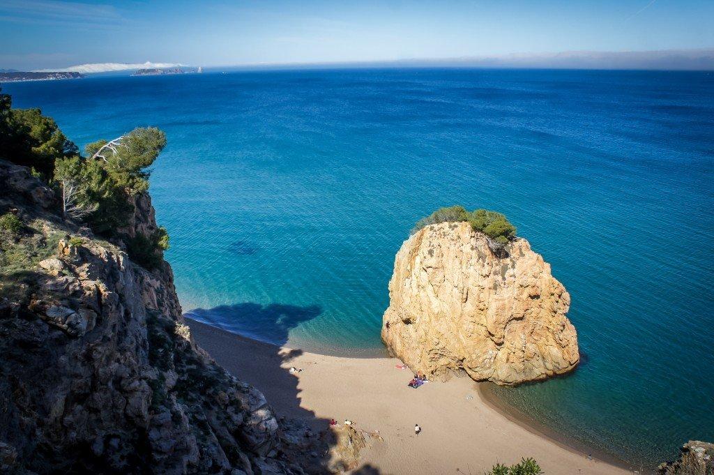 Mooiste stranden Costa Brava: Illa Roja