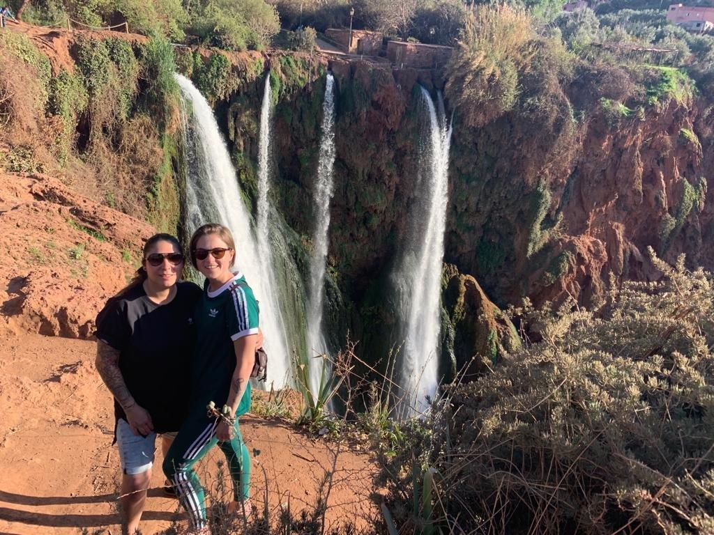 Watervallen Ouzoud