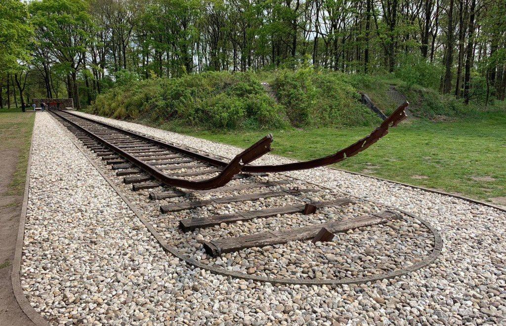 Herinneringscentrum Kamp Westerbork in Drenthe