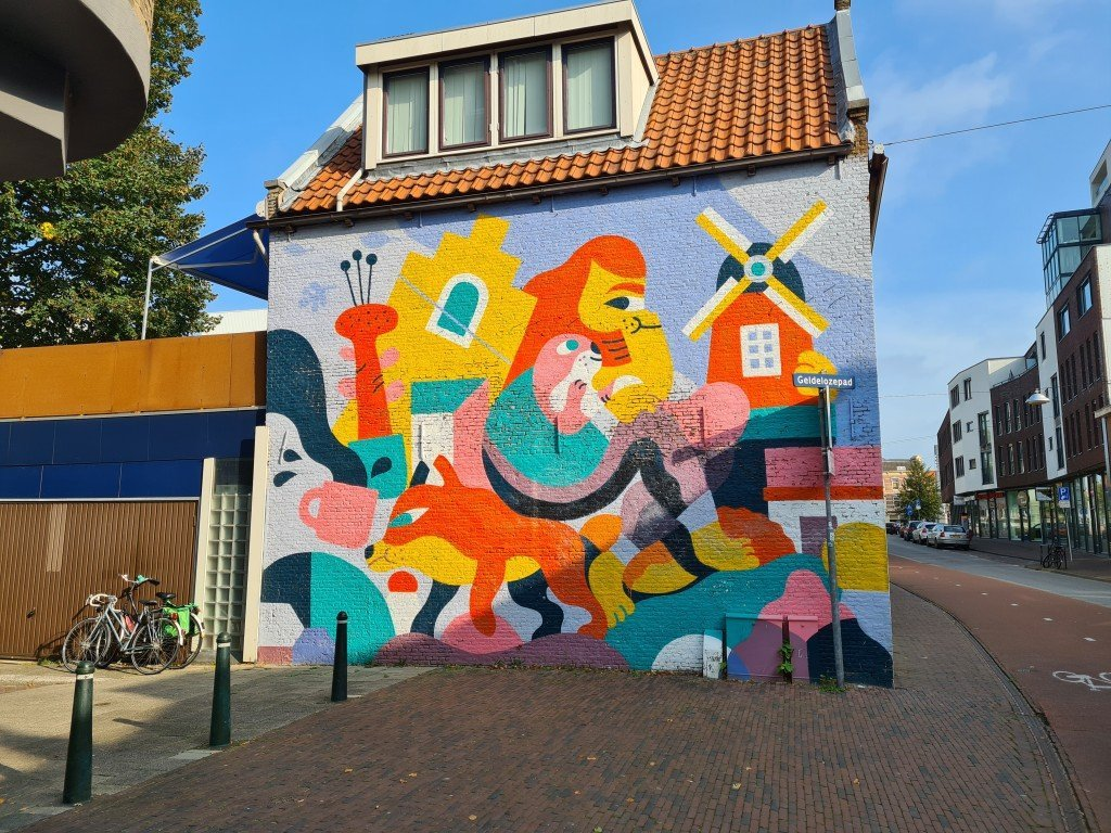 Street art in Dodrecht
