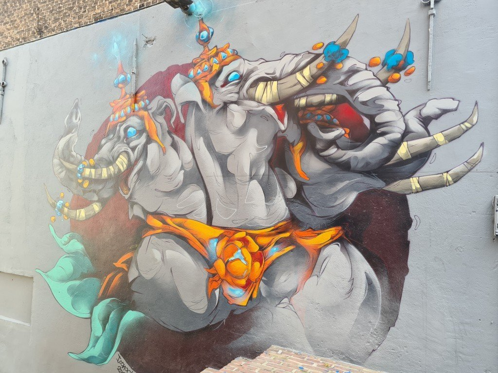 Street art in Dordrecht