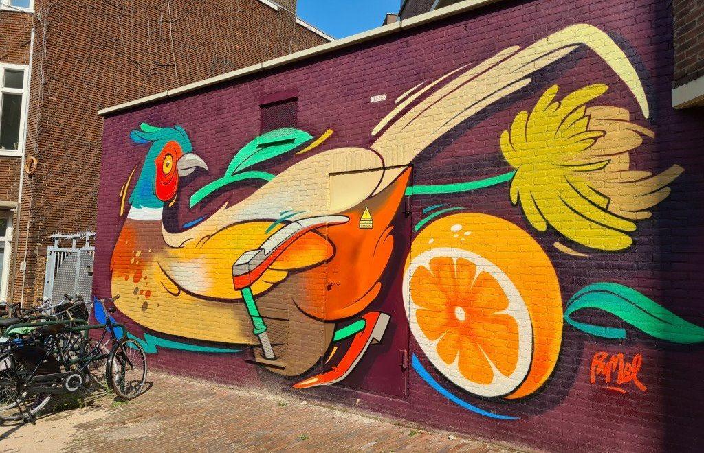 Street art Dordrecht: de mooiste muurschilderingen!