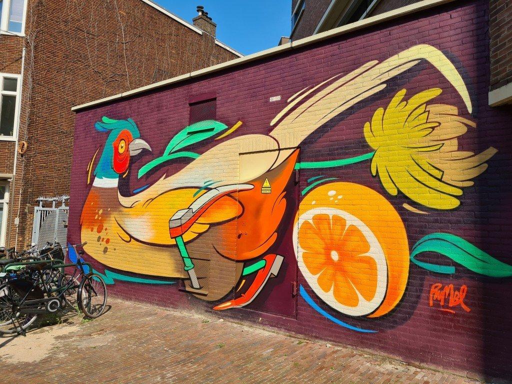 Street art Dordrecht