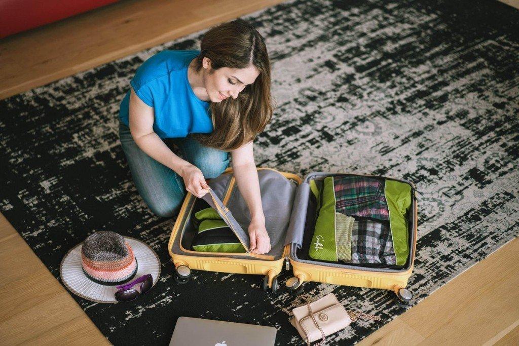 Cadeaus voor reizigers: packing cubes