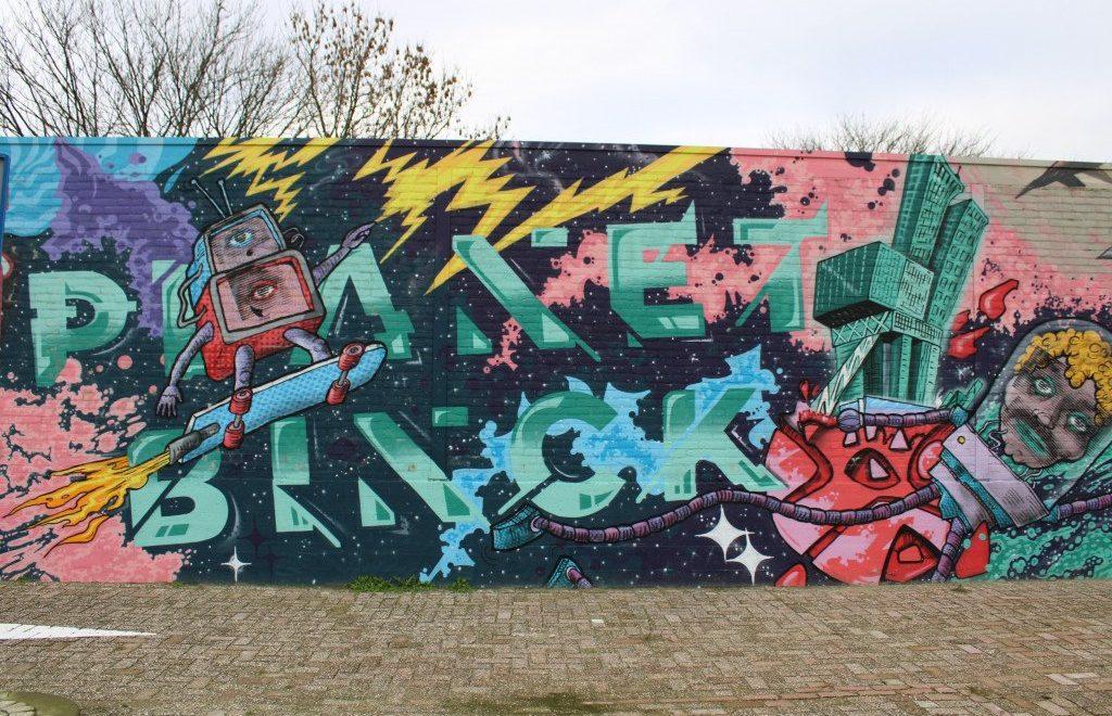 Street art Den Haag: ontdek de mooiste murals in de Binckhorst