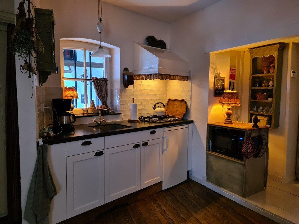 Keuken van B&B Boven de Beek
