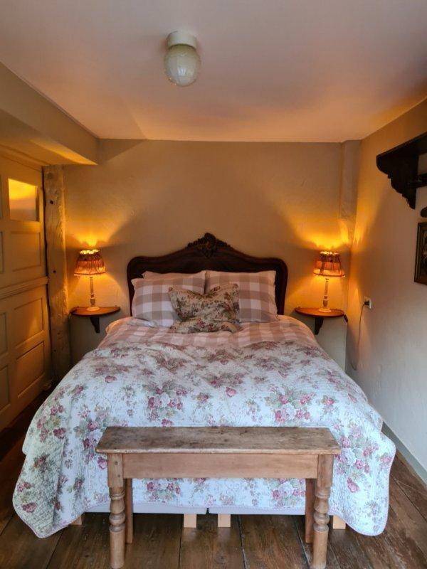 Slaapkamer van B&B Boven de Beek